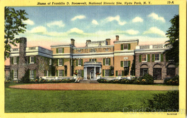 Home Of Franklin D. Roosevelt Hyde Park New York