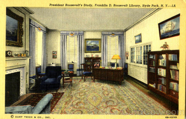 Franklin D. Roosevelt Library Hyde Park New York