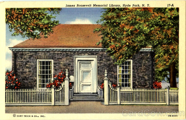 James Roosevelt Memorial Library Hyde Park New York