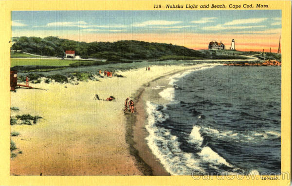 Nobska Light And Beach Cape Cod Massachusetts