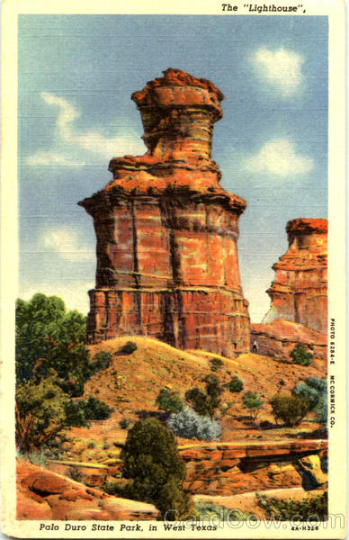 The Lighthouse Palo Duro State Park Texas