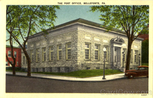 The Post Office Bellefonte Pennsylvania
