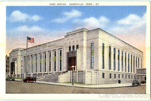 Post Office Nashville Tennessee
