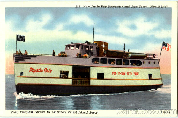 New Put-In-Bay Passenger And Auto Ferry Boats, Ships