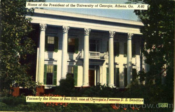 Home Of The President Of The University Of Georgia Athens