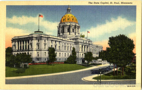 The State Capitol St. Paul Minnesota