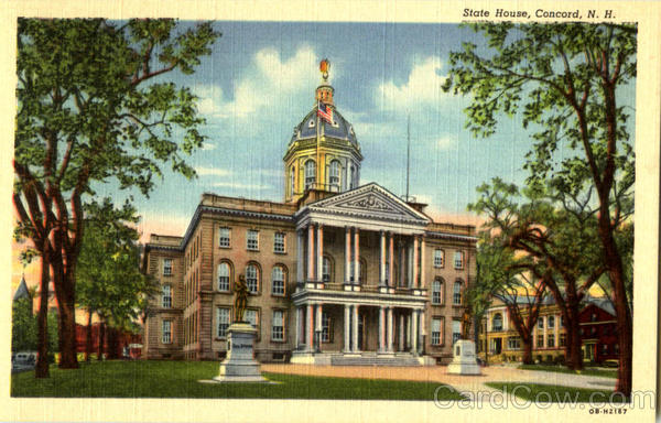 State House Concord New Hampshire