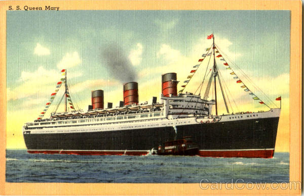 S. S. Queen Mary Boats, Ships