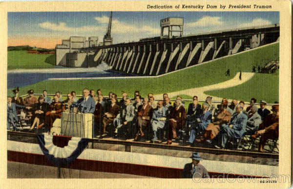 Dedication Of Kentucky Dam By President Truman Presidents