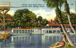 Electric Glass Bottom Boats At Beautiful Silver Springs