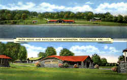 Bath House And Pavilion, Lake Wedington