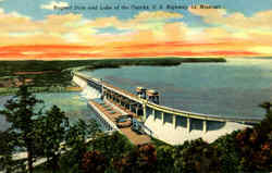 Bagnell Dam And Lake Of The Ozarks, U. S. Highway 54