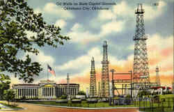 Oil Wells On State Capitol Grounds