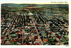 Air View Of Guthrie