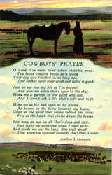 Cowboys Prayer