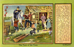 The Turn Of The Tune Postcard