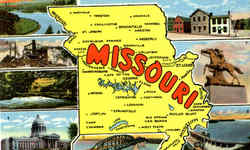 Missouri Postcard