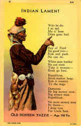 Indian Lament Old Hosteen Yazzie