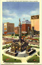 Soldiers And Sailors Monument, Public Square
