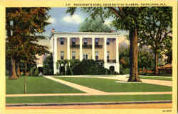 President's Home , University of Alabama