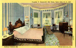 Franklin D. Roosevelt's Bed Room
