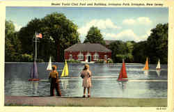 Model Yacht Club Pool And Building, Irvington Park