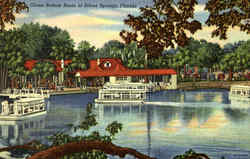Glass - Bottom Boats At Silver Springs