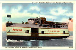 New Put-In-Bay Passenger And Auto Ferry