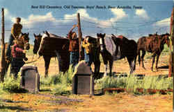 Boot Hill Cemetery, Old Tascosa
