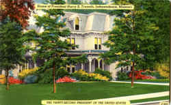 Home Of President Harry S. Truman Postcard