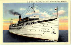 S. S. City Of Grand Rapids Benton Harbor