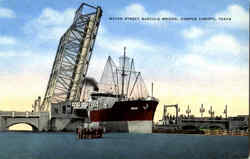 Water Street Bascule Bridge Postcard