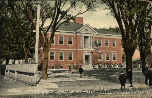 School Street School Middleboro Massachusetts