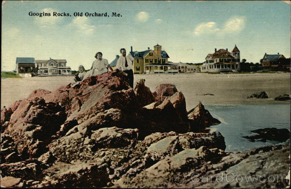 Googins Rocks Old Orchard Beach Maine