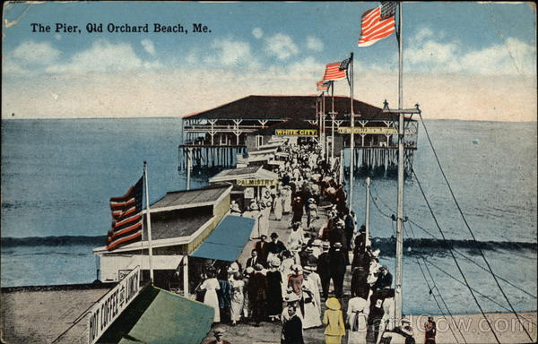The Pier Old Orchard Beach Maine