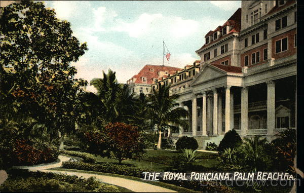 The Royal Poinciana Palm Beach Florida