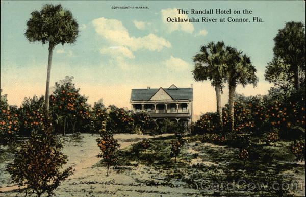 The Randall Hotel on the Ocklawaha River Silver Springs Florida