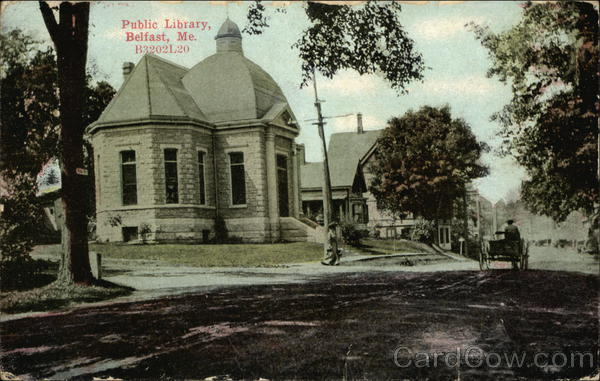 Public Library Belfast Maine