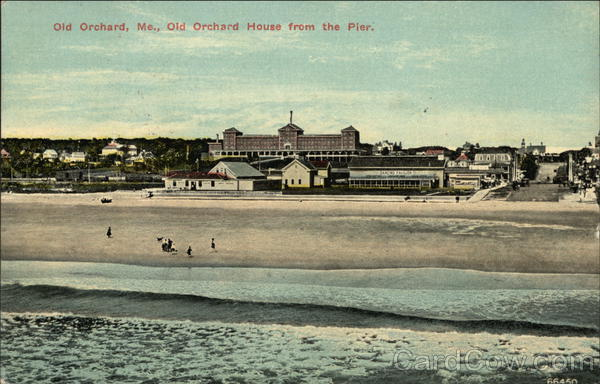 Old Orchard House from the Pier Old Orchard Beach Maine