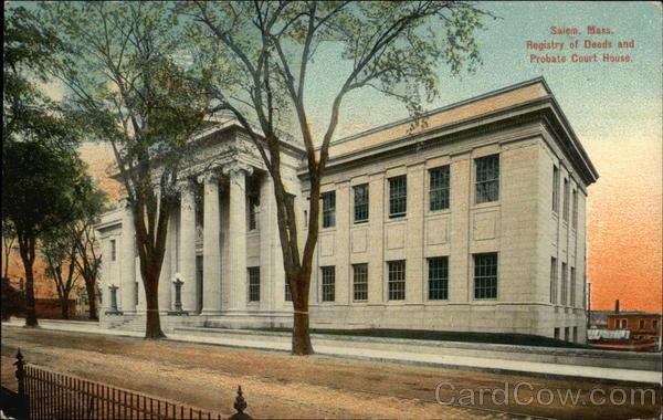 Registry Of Deeds Massachusetts
