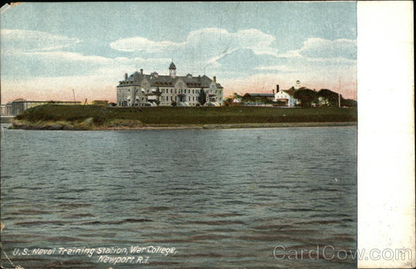 U. S. Naval Training Station, War College Newport Rhode Island