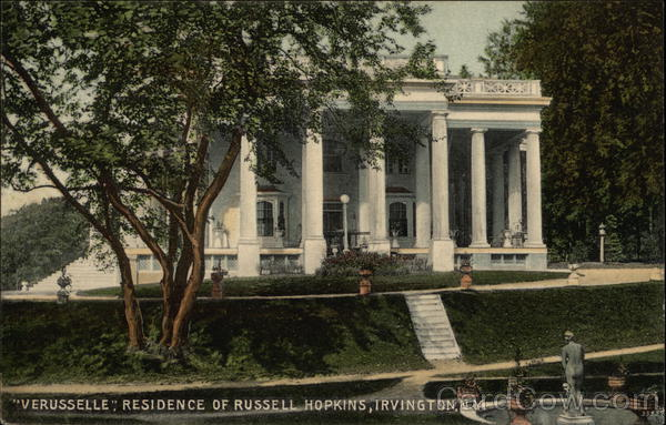 Veruselle, Residence of Russell Hopkins Irvington New York