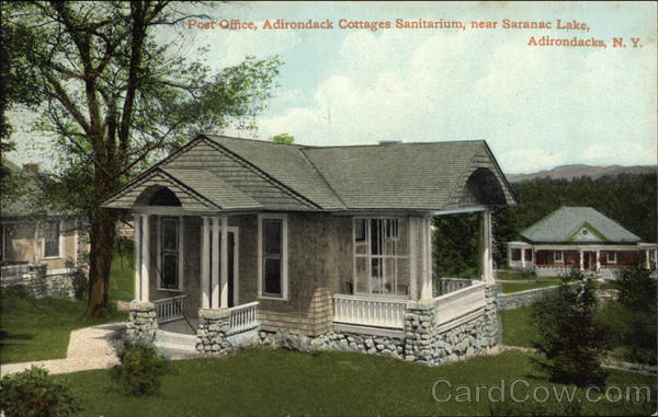 Post Office, Adirondack Cottages Sanitarium Saranac Lake New York