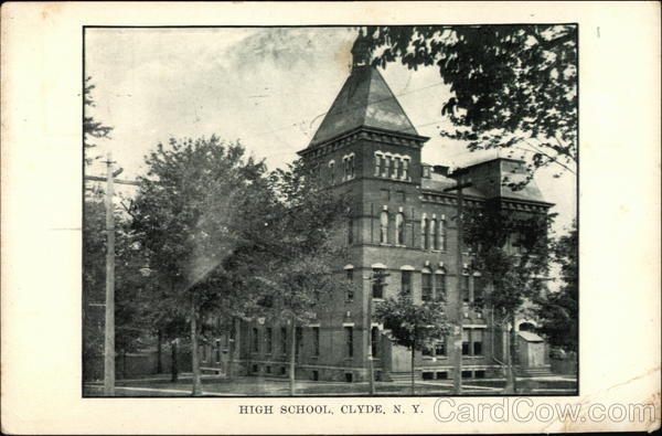 High School Clyde New York