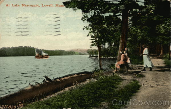 Lake Mascuppic Lowell Massachusetts