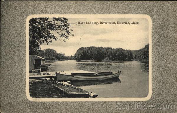 Boat Landing, Riverhurst Billerica Massachusetts