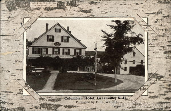 Columbian Hotel Greenville New Hampshire