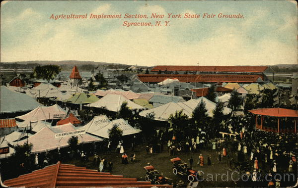 Agricultural Implement Section, New York State Fairgrounds Syracuse