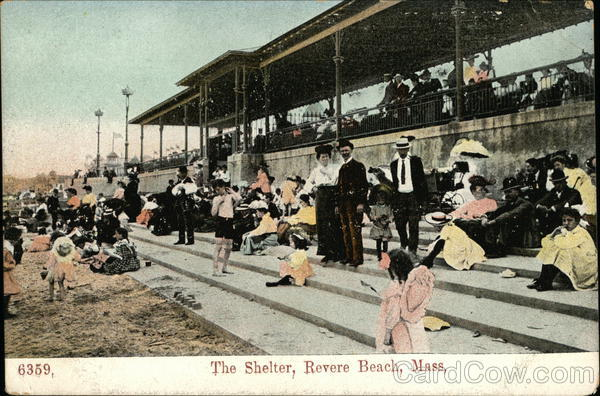 The Shelter Revere Beach Massachusetts