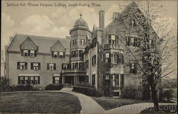 Safford Hall, Mount Holyoke College South Hadley Massachusetts